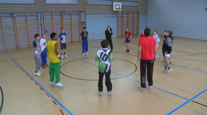 Sportlektion Jumpstyle Sekundarstufe Jungen