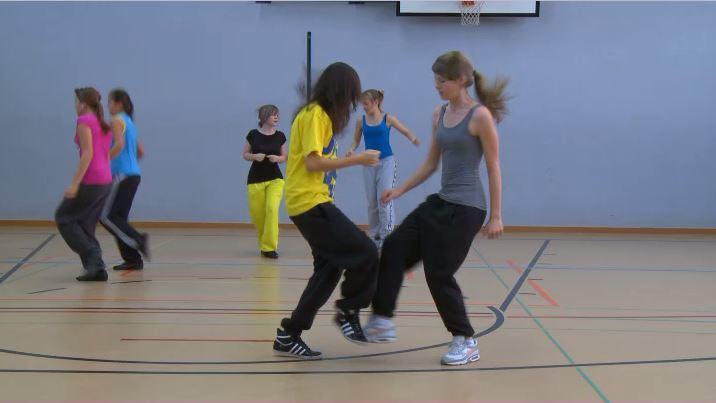 Sportlektion Jumpstyle Sekundarstufe Mädchen